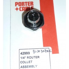 """1/4"""" Collet for 1.5hp Porter-Cable Motor"""